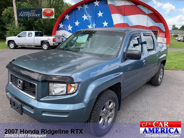 2007 Honda Ridgeline RTX *** CICERO SALE PRICED $9,995***