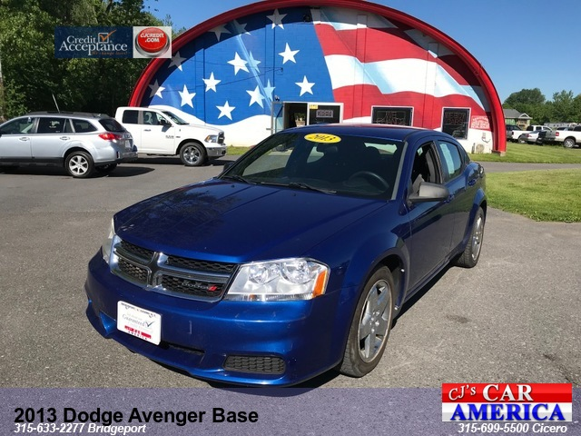 2013 Dodge Avenger Base *** CICERO SALE PRICED $7,495***