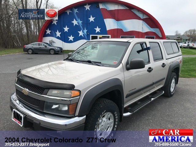 2004 Chevrolet Colorado LS Z71 Crew Cab *** CICERO SALE PRICED $6,995***