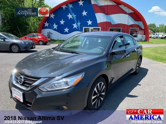 2018 Nissan Altima 2.5 SV *** CICERO SALE PRICED $15,995***