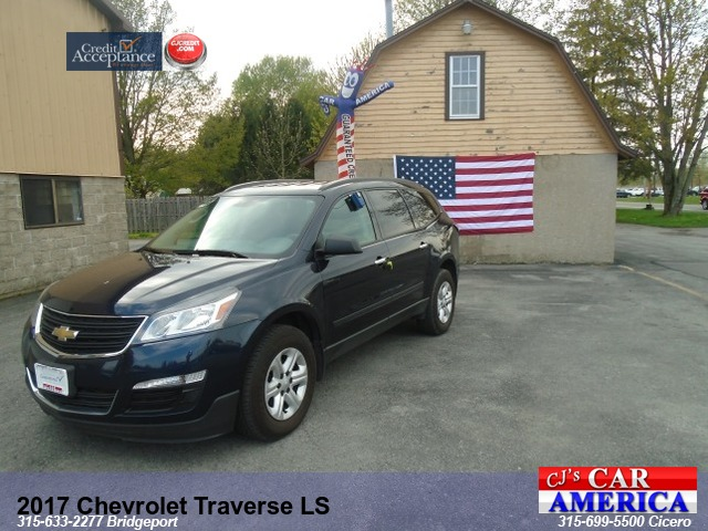 2017 Chevrolet Traverse LS ...SALE PRICED $16995 AT BRIDGEPORT STORE...