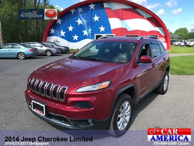 2014 Jeep Cherokee Limited ***CICERO SALE PRICED $17,995***