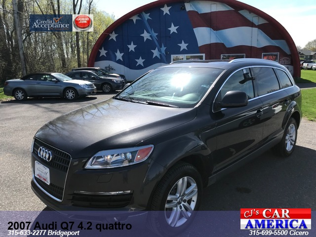 2007 Audi Q7 4.2 quattro *** CICERO SALE PRICED $7,995***