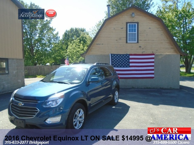2016 Chevrolet Equinox LT  ON SALE @BRIDGEPORT $14995