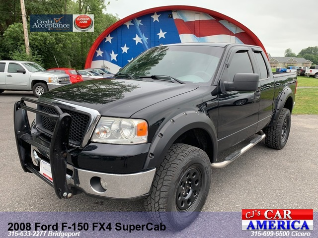 2008 Ford F-150 FX4 SuperCab*** CICERO SALE PRICED $8,995***
