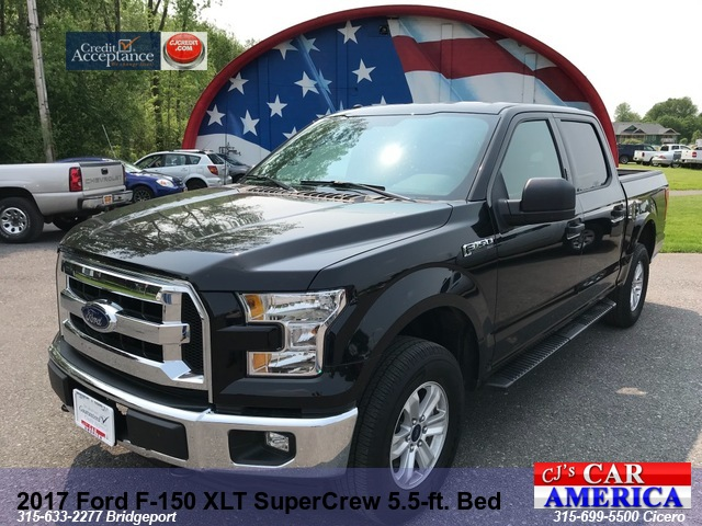 2017 Ford F-150 XLT Crew 5.5 BED Bridgeport PRICED $32,995***