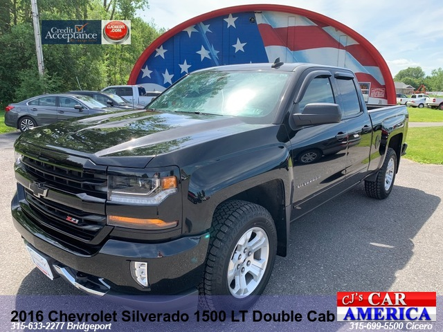 2016 Chevrolet Silverado 1500 LT Double Cab*** BRIDGEPORT PRICED REDUCED $27,995***