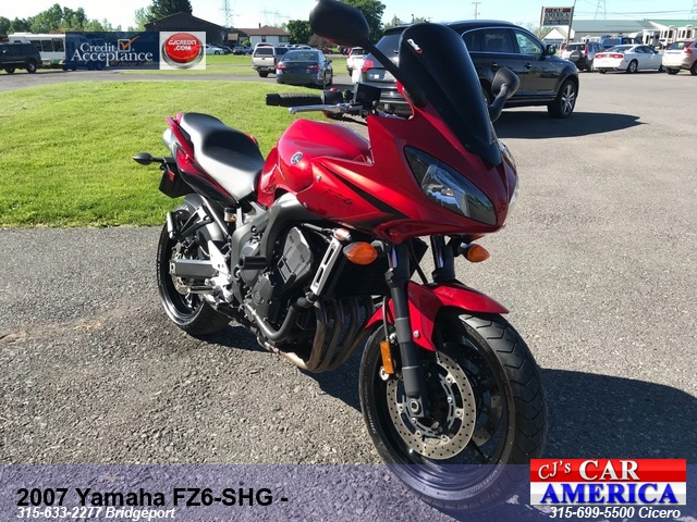 2007 Yamaha FZ6-SHG -**** CICERO SALE PRICED $3,995****