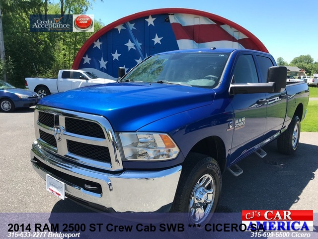 2014 RAM 2500 ST Crew DIESEL SWB *** CICERO PRICE REDUCED $28,995***