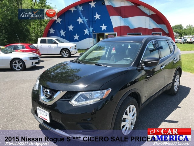2015 Nissan Rogue S *** Bridgeport  SALE PRICED $14,995***
