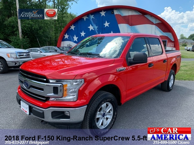 2018 Ford F-150 XLT 5.5 FT***CICERO PRICE REDUCED$28,995***