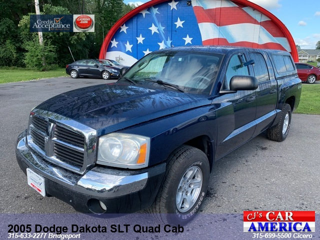 2005 Dodge Dakota SLT Quad Cab *** CICERO SALE PRICED $7,495***