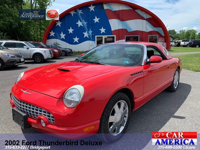2002 Ford Thunderbird Deluxe*** BRIDGEPORT  SALE PRICED $8,995***