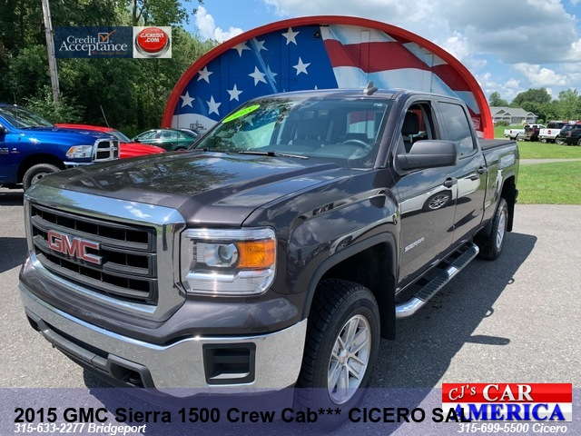 2015 GMC Sierra 1500 Crew *** CICERO SALE PRICED $26,995***