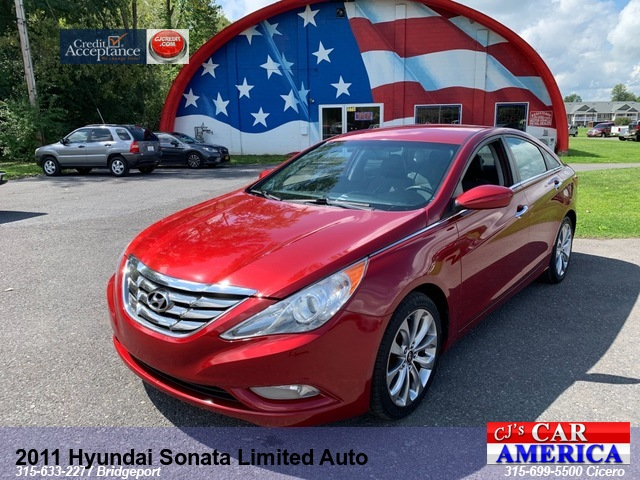 2011 Hyundai Sonata Limited *** CICERO SALE PRICED $6,995***