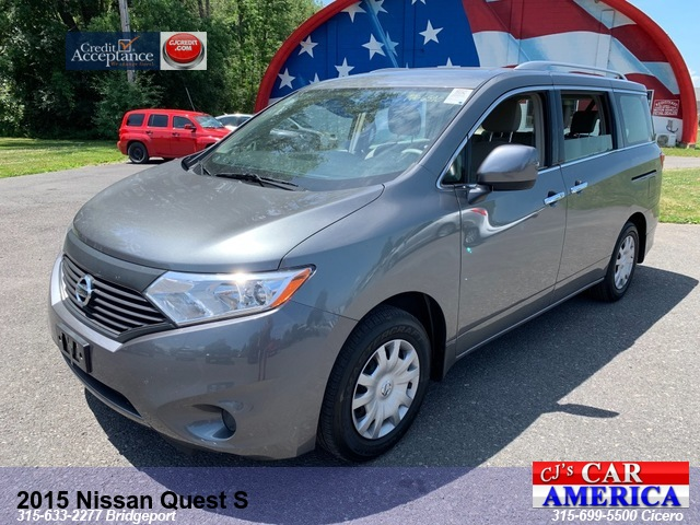 2015 Nissan Quest S*** CICERO SALE PRICED $13,495***