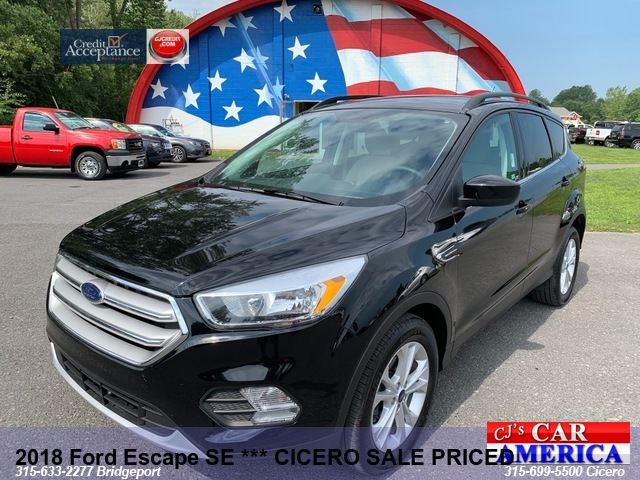2018 Ford Escape SE *** CICERO SALE PRICED $17,995***