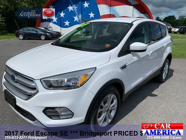 2017 Ford Escape SE *** Bridgeport PRICED $16,995***