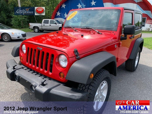 2012 Jeep Wrangler Sport *** CICERO SALE PRICED $13,995***