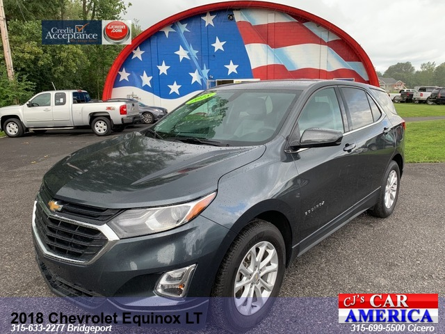 2018 Chevrolet Equinox LT *** CICERO SALE PRICED AT $17,995***
