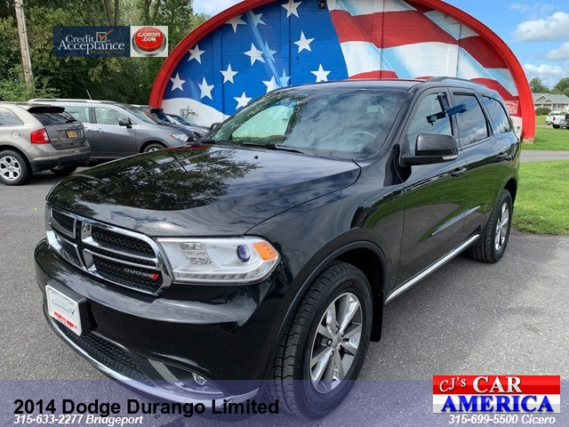 2014 Dodge Durango Limited *** CICERO SALE PRICED $19,995***