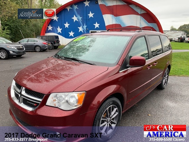 2017 Dodge Grand Caravan SXT *** CICERO SALE PRICED $16,495***