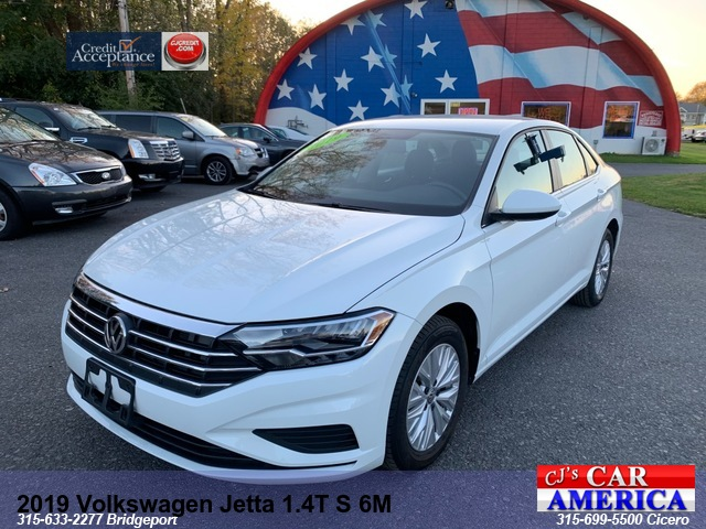 2019 Volkswagen Jetta 1.4T S MANUAL SHIFT *** CICERO SALE PRICED $15,995***