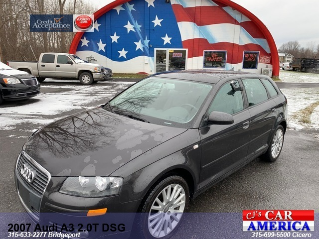 2007 Audi A3 2.0 T DSG*** CICERO SALE PRICED $5,995***