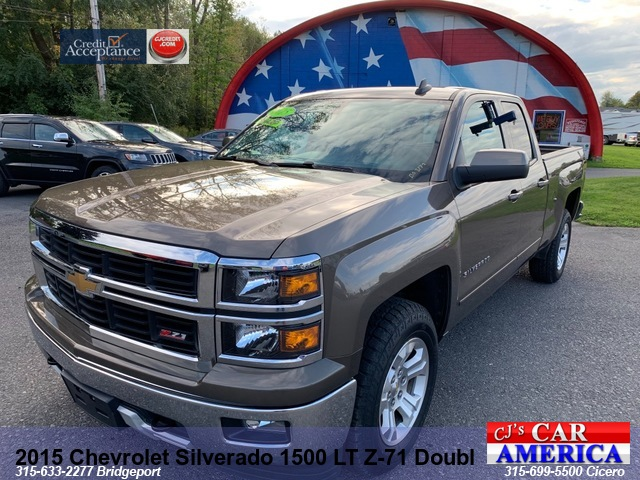 2015 Chevrolet Silverado 1500 LT Z-71 Double Cab*** CICERO SALE PRICED $25,995***