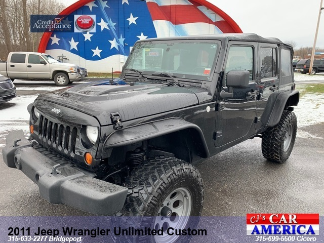 2011 Jeep Wrangler Unlimited Sport *** CICERO PRICE REDUCED $22,995***