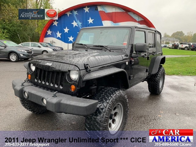 2011 Jeep Wrangler Unlimited Sport *** CICERO SALE PRICED $23,995***