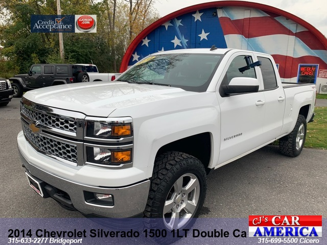 2014 Chevrolet Silverado 1500 1LT Dbl. Cab Lifted***CICERO SALE PRICED $18,995