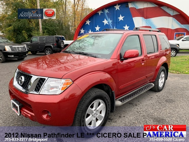 2012 Nissan Pathfinder LE *** CICERO SALE PRICED $13,495***