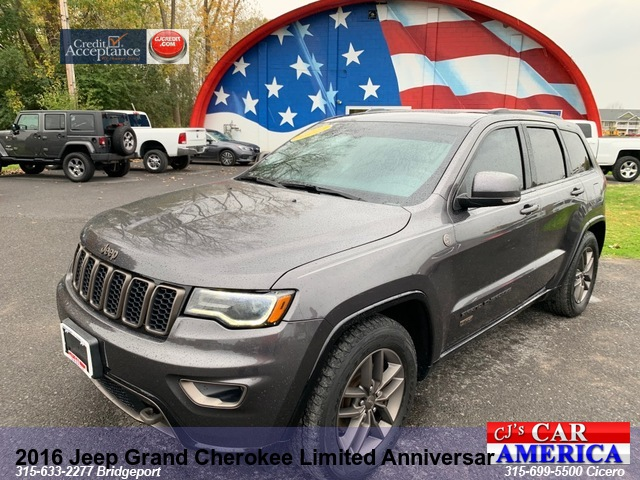 2016 Jeep Grand Cherokee Limited Anniversary** CICERO PRICE REDUCED $26,995**