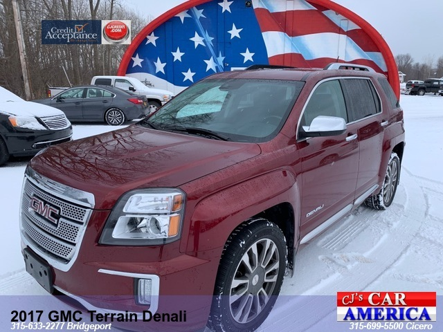2017 GMC Terrain Denali *** CICERO SALE PRICED $21,995***