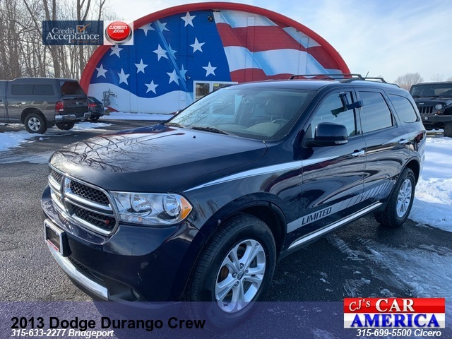 2013 Dodge Durango Crew *** CICERO SALE PRICED $15,495***