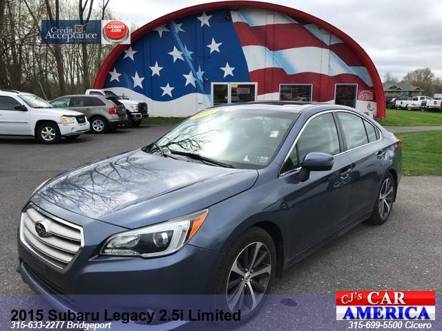 2015 Subaru Legacy 2.5i Limited AWD ***CICERO SALE PRICED $15,995***
